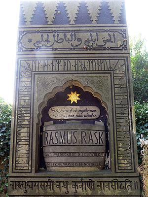 Rasmus Rask - Image: Kbh Rasmus Rask 1