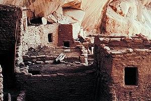 Navajo National Monument - Keet Seel cliff dwellings