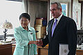 Keiko Chiba and Kurt M Campbell 20100618.jpg