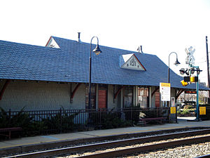 Kensington station (Maryland) - Image: Kensington MD B&O station 2009