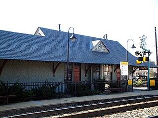 Kensington station (Maryland) rail station in Kensington, Maryland, United States