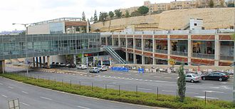 Route 436 (Israel) - Ramot Mall on 436