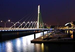 Keppel Bay Bridge - Photographed in September 2012
