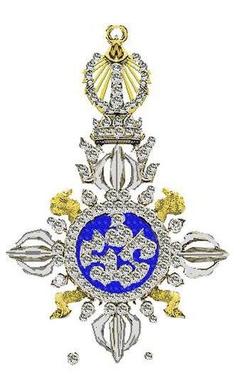 Ratana Varabhorn Order of Merit - Image: Keten van de Siamese koning