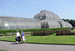 Conservatory of Flowers - The Kew Gardens palm house has been described as the inspiration for the Conservatory of Flowers.