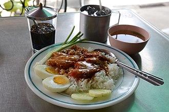 Gaifan - Thai-Chinese Char siu Gaifan