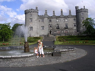 Kilkenny Castle - Kilkenny Castle, the signature symbol of the Mediaeval city