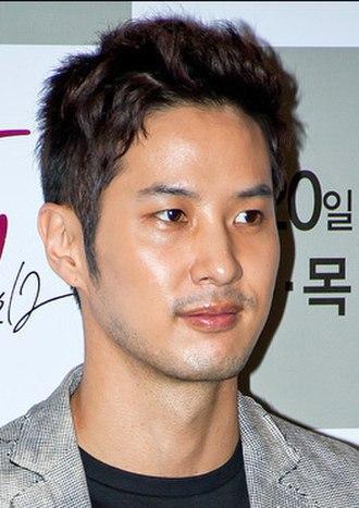 Kim Ji-seok (actor) - Kim Ji-seok at the I Need Romance 2012 press conference in April 2012