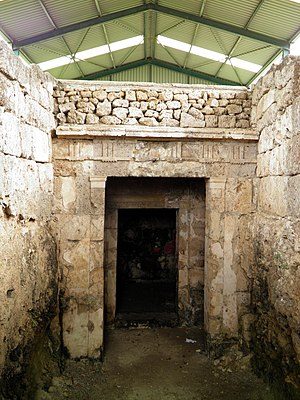 Mieza, Macedonia - Image: Kinchs Tomb (Macedonian tomb), Lefkadia, Ancient Mieza (7272131400)