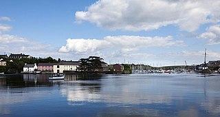 Kinsale Town in Munster, Ireland