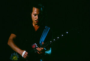 "Master of Puppets - Hammett performing the ""Master of Puppets"" solo in the late 1990s"