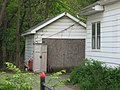 Kirkwood Avenue West 811 garage, Bloomington West Side HD.jpg