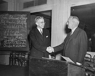 Edmund Ezra Day - Kirtley Fletcher Mather and Edmund Ezra Day, 1947