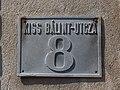 Kis Bálint-utcza 8, house number, 2019 Szentes.jpg