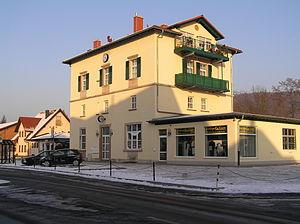 Kleinwallstadt - Image: Kleinwallstadt Bahnhof