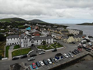 Knightstown, County Kerry Village in Munster, Ireland