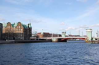 bridge in Copenhagen, Denmark