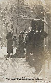 Gustav Jensen Norwegian priest