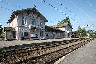 Hvordan komme seg til Kongsvinger stasjon med offentlig transport - Om stedet