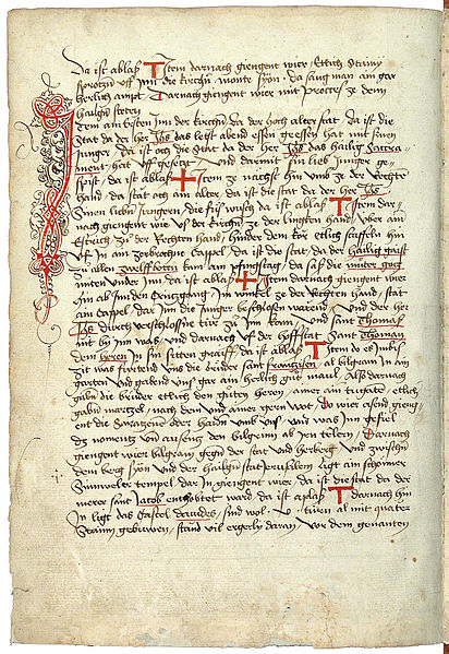 File:Konrad von Grünenberg - Beschreibung der Reise von Konstanz nach Jerusalem - Blatt 41v - 088.jpg