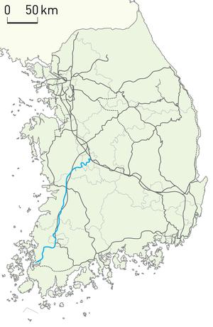 Honam Line - Image: Korail Honam Line