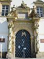 Kostel Navštívení P. Marie (Svatý Kopeček), portál.JPG