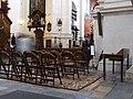 Krakov, Stare Miasto, interiér kostela svatého Petra a Pavla II.JPG