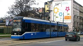Image illustrative de l'article Tramway de Cracovie