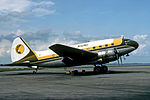 Kris Air Curtiss C-46 Commando (N335CA) at Singapore Seletar Airport.jpg