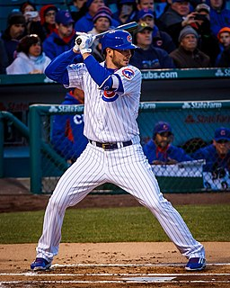 Kris Bryant on April 27, 2015