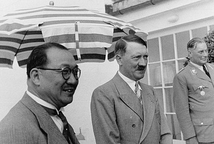H. H. Kung and Adolf Hitler in Berlin Kung and hitler.jpg