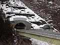 Kuriko-tunnel Fukushima prefecture side entrance.jpg