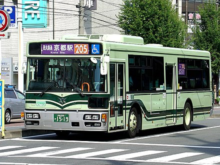 A typical Kyoto Municipal Bus Kyoto City Bus 200 Ka 1519.jpg