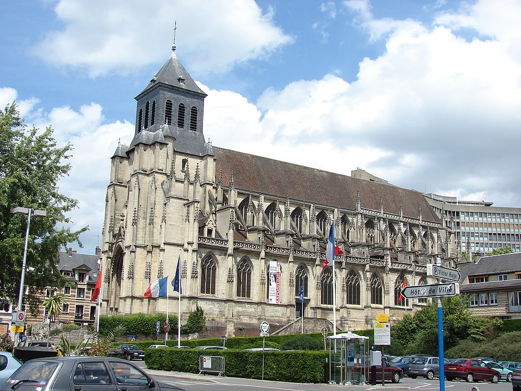 L'église Saint-Jacques, Lisieux, Lower Normandy, France - panoramio.jpg