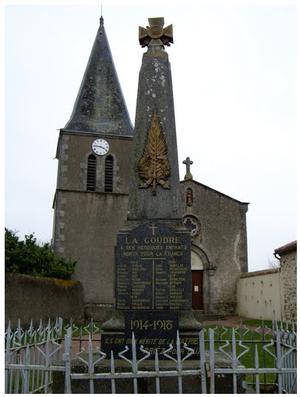 La Coudre, Deux-Sèvres - The church in La Coudre