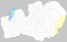 Kronobergs län-Kommuner 1952-1971-Län - Socknar - Kronoberg