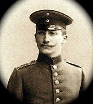Léo Schnug - Sgt. Léo Schnug (1914)
