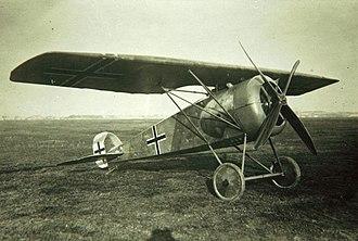 LFG Roland D.XVI - LFG Roland D.XVI first prototype
