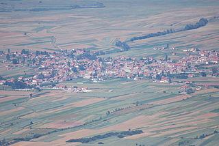 Lažani Village in Pelagonia, North Macedonia