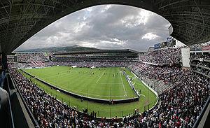 Estadio Rodrigo Paz Delgado - Image: La Casa Blanca
