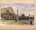 La chapelle des Rosaires. Lourdes. Fritz von Dardel, 1886 - Nordiska Museet - NMA.0037312.jpg
