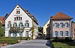Neckartorplatz in Ladenburg