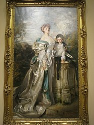 John Singer Sargent: Portrait of Lady Warwick and her Son