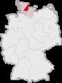 Lage des Kreises Rendsburg-Eckernförde in Deutschland.png