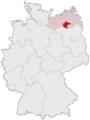 Lage des Landkreises Müritz in Deutschland.png