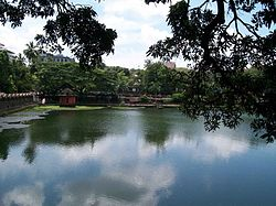 Lake, Sakthan Thamburan Archaeological Museum,Thrissur.jpg