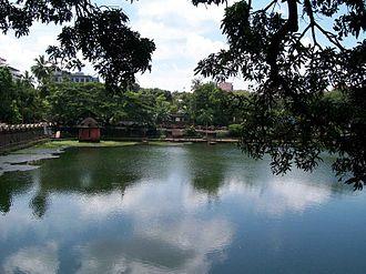 Vadakkechira - A view of Vadakkechira pond