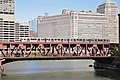"Lake Street Bridge in Chicago with ""L"" train crossing in 2010.jpg"