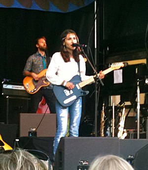 Laleh (singer) - Laleh performing at Landskrona in 2010