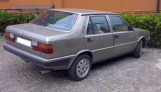 Lancia Prisma - Rear view